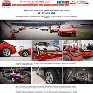 The Porsche 924 Owners Club • Index page