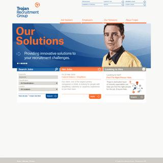 Recruitment Agency & Employment Services - Trojan Recruitment Group
