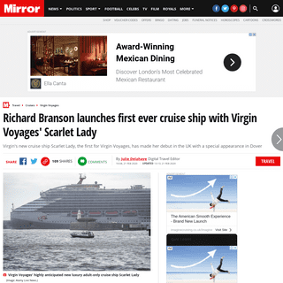ArchiveBay.com - www.mirror.co.uk/travel/cruises/virgin-voyages-first-ever-cruise-21545071 - Richard Branson launches first ever cruise ship with Virgin Voyages' Scarlet Lady - Mirror Online