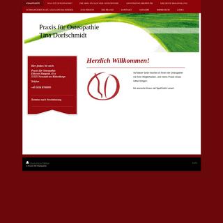 Praxis für Osteopathie - Startseite