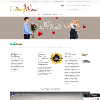 Gifts For Her Special Wedding Anniversary From Eternity Rose