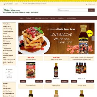 Walden Farms - Calorie Free Specialties - Official Site