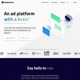 LockerDome - An ad platform with a brain