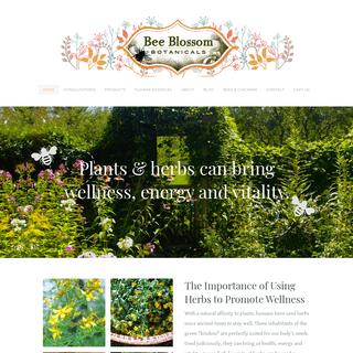 Bee Blossom Botanicals - Home