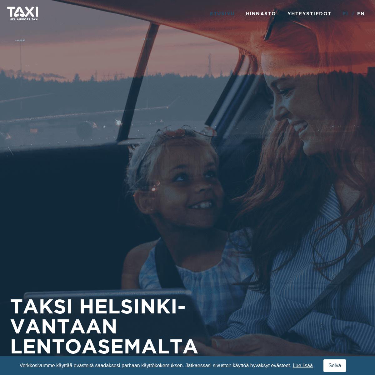 Etusivu - Helsinki Airport Taxi