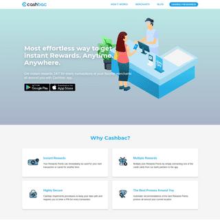ArchiveBay.com - cashbac.com - Cashbac - Instant Rewards App