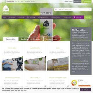 Chi Natural Life - Natuurzuivere producten