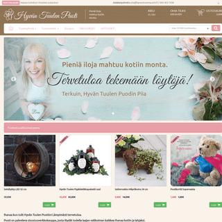 ArchiveBay.com - bellapuoti.com - Sisustuskauppa - Hyvän Tuulen Puoti