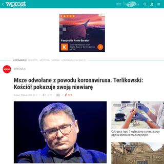 ArchiveBay.com - zdrowie.wprost.pl/koronawirus/10301652/msze-odwolane-z-powodu-koronawirusa-terlikowski-kosciol-pokazuje-swoja-niewiare.html?utm_source=Wprost.pl&utm_medium=homepage_box&utm_campaign=koronawirus - Msze odwołane z powodu koronawirusa. Terlikowski krytytkuje