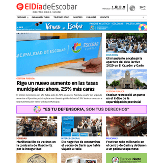 Escobar - Noticias de Escobar - El Día de Escobar