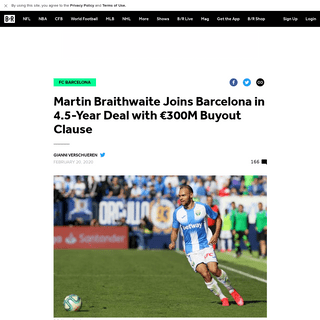 ArchiveBay.com - bleacherreport.com/articles/2877173-martin-braithwaite-joins-barcelona-in-45-year-deal-with-eur300m-buyout-clause - Martin Braithwaite Joins Barcelona in 4.5-Year Deal with €300M Buyout Clause - Bleacher Report - Latest News, Videos and Highl