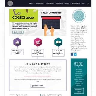 Home - Cognitive Science Society