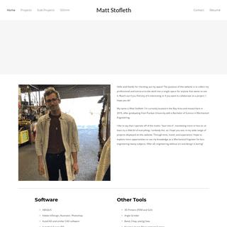 ArchiveBay.com - mattstofleth.com - Matt Stofleth