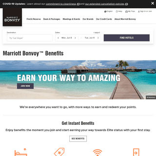 Marriott Bonvoy™ Benefits