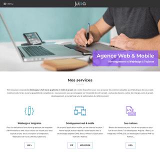 Développement d'Application Mobile et Site Internet - Toulouse