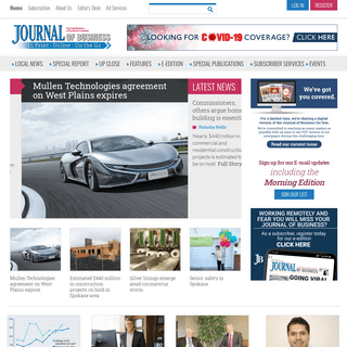 Spokane Journal of Business - Home