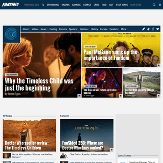 Doctor Who Watch - A Doctor Who Site -- News, Rumors, Episode Recaps and More