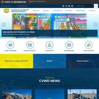 Coachella Valley Water District - Official Website - Official Website