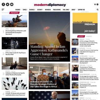 Modern Diplomacy - Modern Diplomacy