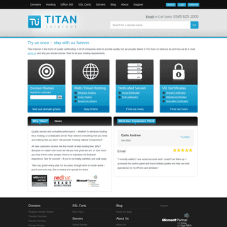 Welcome to Titan Internet