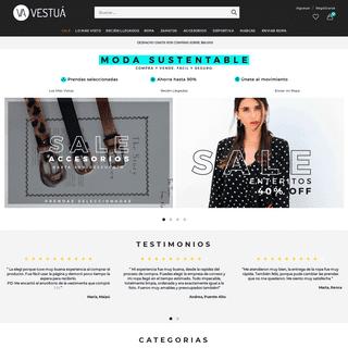 Vestuá - Compra y vende ropa de manera fácil y segura