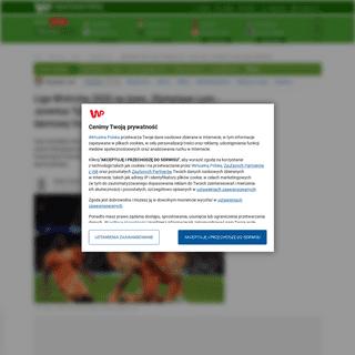 Liga Mistrzów 2020 na żywo. Olympique Lyon - Juventus Turyn. Transmisja TV, stream online, darmowy live - Sport WP SportoweFak