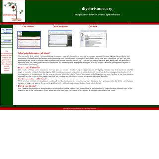 diychristmas.org home page