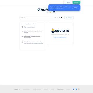 Zanroo Search