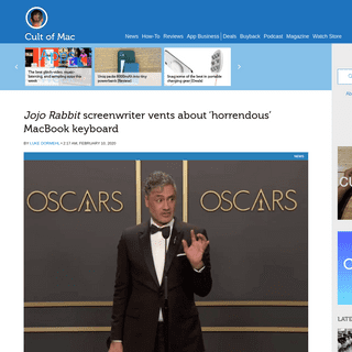 Jojo Rabbit screenwriter vents about 'horrendous' MacBook keyboard