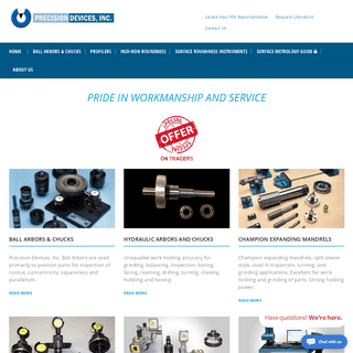 Precision Devices Inc. - Homepage