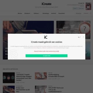 iCreate - Voor je Mac, iPad, iPhone en Apple Watch