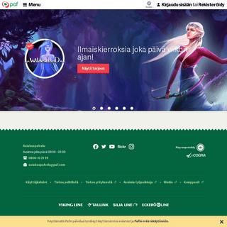 Casino & Netticasino - Yli 50 vuotta peli-iloa - Paf.com