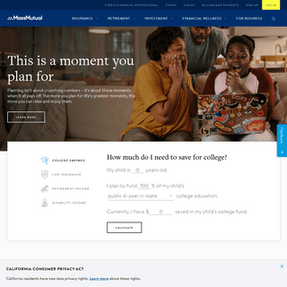 Insurance and Financial Services – Live Mutual – MassMutual