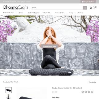 DharmaCrafts -Meditation cushions, statues, furnishings, incense