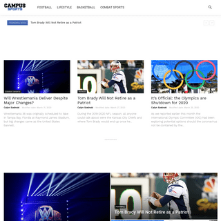 College Sports, Lifestyle, Breaking News & Videos - Campus Sports - Campus Sports is a leading college sports, lifestyle and blo
