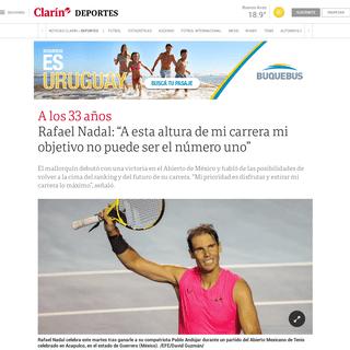ArchiveBay.com - www.clarin.com/deportes/rafael-nadal-altura-carrera-objetivo-puede-numero-_0_xuo2Ps7K.html - Rafael Nadal- -A esta altura de mi carrera mi objetivo no puede ser el número uno- - Clarín