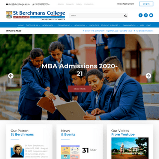 SB College – Tradition of Excellence in the Field of Education since 1922