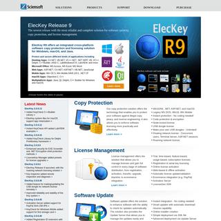 ArchiveBay.com - sciensoft.com - Software Protection, Software Copy Protection, Software License Management, Automatic Software Update Solution for Windows, macO