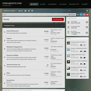 Forums - Steelbeasts.com