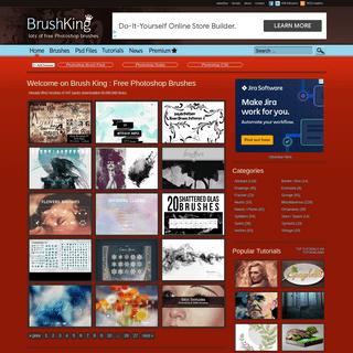 Free Photoshop Brushes - BrushKing ♛