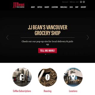 JJ Bean Coffee Roasters - In Vancouver & Toronto