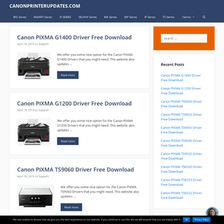 CANONPRINTERUPDATES.COM - Canon Printer Download Driver & Software For Windows, Mac Os and Linux