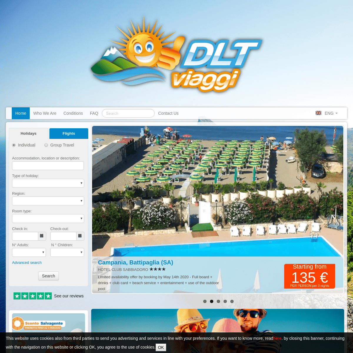 ArchiveBay.com - dltviaggi.it - DLT Viaggi - Low cost holidays - Hotels and Apartments in Italy. Book your vacation