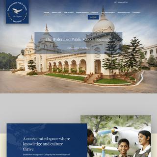 The Hyderabad Public School – Be Vigilant
