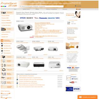 Proyectores Epson, Proyectores Nec, Proyectores Panaosnic, Christie, Sony- ProyectoresOK.com