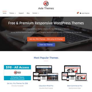 Free and Premium Responsive WordPress Themes