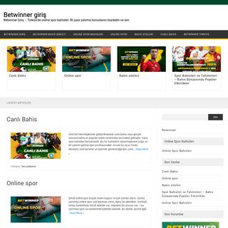 Betwinner giriş - Betwinner Giriş - Türkiye'de online spor bahisleri. İlk para yatırma bonuslarını kaydedin ve alın