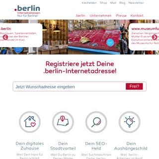 Startseite - dot.berlin