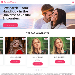 SexSearch – Your Handbook in the Universe of Casual Encounters - cougar-life.net