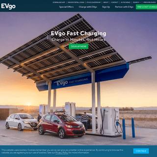EVgo- Electric Vehicle (EV) Charging Stations - EV Fast Charging